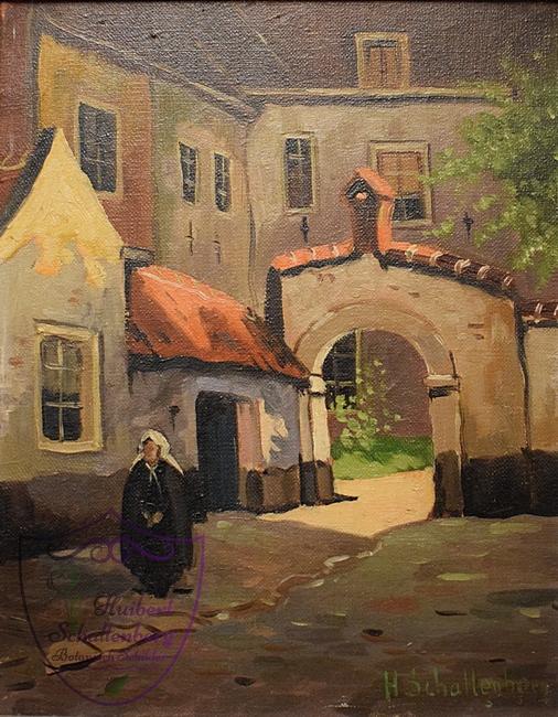 Voorbeeld van een schilderij van Huibert Schallenberg