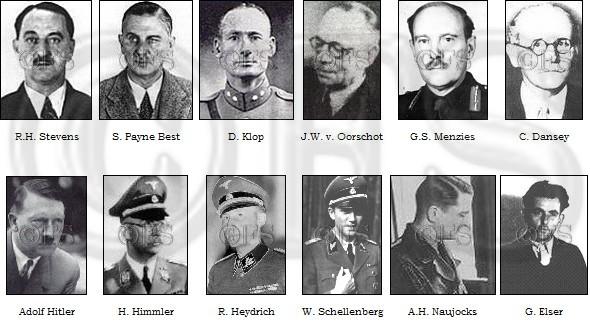 De hoofdrolspelers van het Venlo Incident