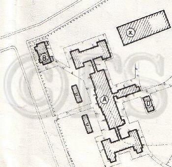 Plattegrond Frederik Hendrik kazerne (Voormalig Hospitaal)