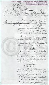 Soeverein Besluit (Uitzetten Brigade in Venlo)